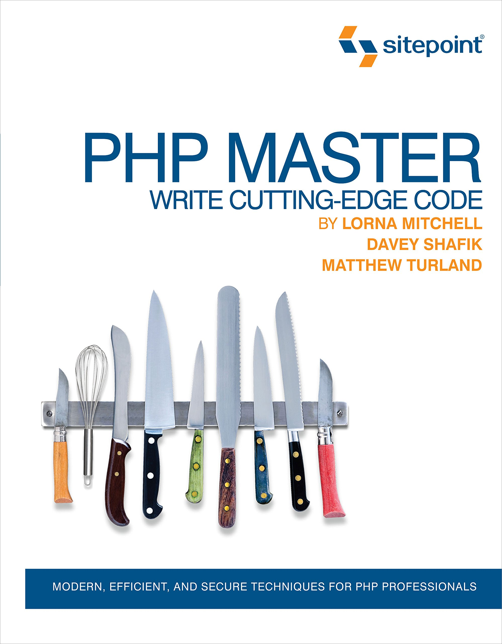Book Cover: PHP Master: Write Cutting Edge Code