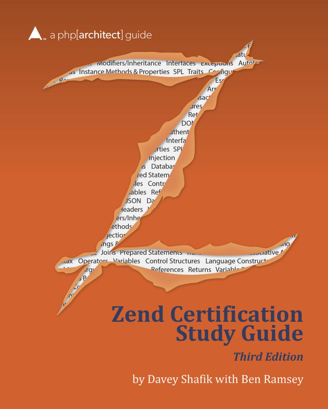 Zend Certification Study Guide