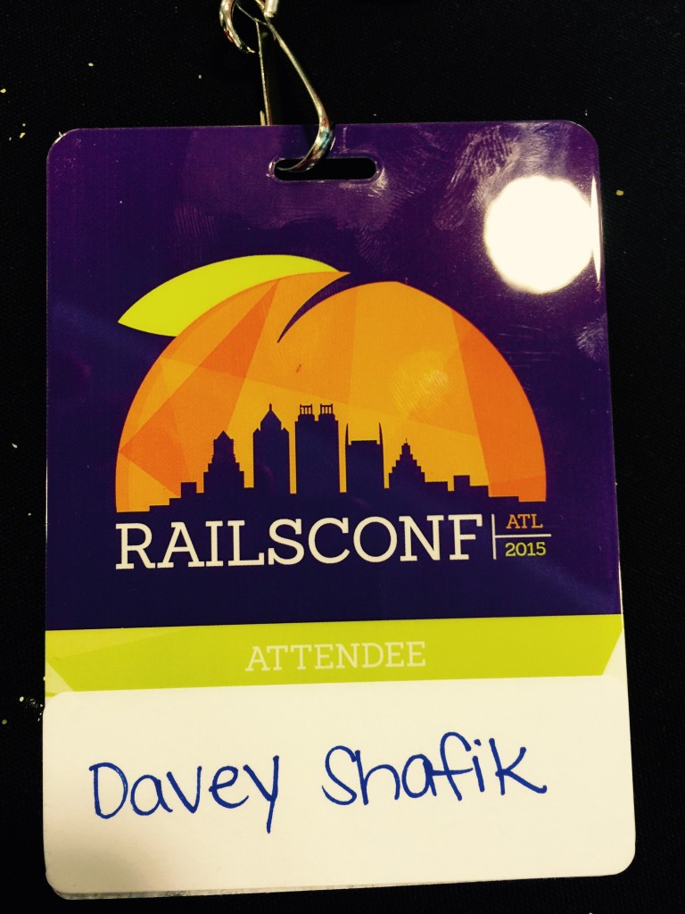 RailsConf Badge